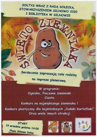Plakat Święto Ziemniaka Silnowowww