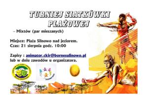Plakat turniej