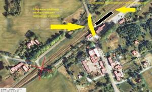 Mapa_przebudowa przejazdu